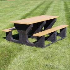 jayhawk plastics picnic table have to have it polly products tuff step thru picnic table