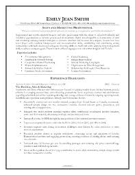 marketing resume format best resume exles 2017 resume format for sales and marketing