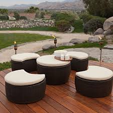 Patio Table Clearance by All Seasons Outdoor Jt40s Rattan Garden Furniture Patio Tile Top