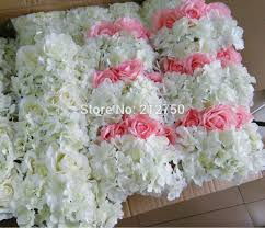 wedding arch no flowers high artificial silk hydrangea white pink wedding arch flower