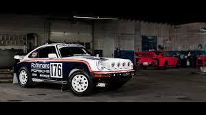 rothmans porsche 911 ebay find of the day 1989 porsche 911 rothmans rally car tribute