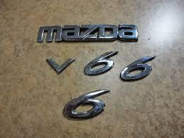 mazda car emblem used mazda 6 emblems for sale