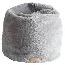 shepherd lilly sheepskin beanbag in granite parkinsons lifestyle