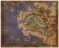 Shannara Map The Wertzone Map Of Project Eternity