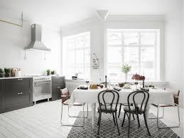 30 black u0026 white dining rooms that work their monochrome magic