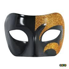 black and gold mardi gras mystic gold glitter black venetian masquerade mask mardi gras