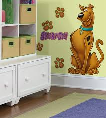 roommates rmk scooby doo peel and stick giant wall decal rmk features comes with elements simply peel and stick any smooth clean dry surface repositionable removable damage