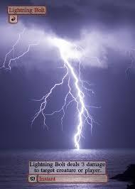 magic alternate template 0r001 lightning bolt by djinon on