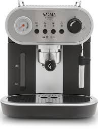gaggia carezza deluxe stainless steel manual espresso machine