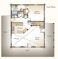 stylist and luxury cabin house plans with a loft 4 small plan with