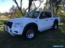 ford ranger dual cab for sale 2008 ford ranger pj 07 upgrade xl 4x2 white manual 5sp m dual