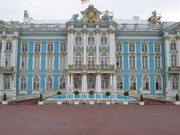 catherine palace pushkin on the map