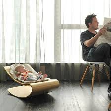 baby rocking chair in contemporary style modern furniture for kids