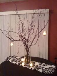 tree branch centerpieces rustic tree branch wedding centerpieces