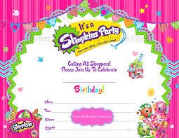 free shopkins invitations visit us at great kids birthday