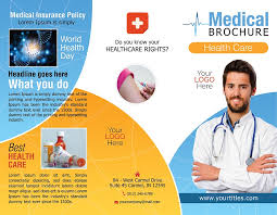 tri fold brochure template free download medical tri fold brochure template free psd download u2013 brochure