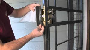 Front Door Security Gate by Lock Guard Armor Security Door Lock Enhancement By Secure All
