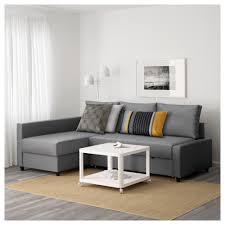Ikiea by Friheten Corner Sofa Bed With Storage Skiftebo Dark Grey Ikea