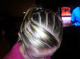 gymnastics picture hair style ideas about gymnastic meet hairstyles cute hairstyles for girls