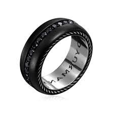 his and hers black wedding rings free rings black titanium engagement rings black