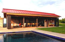 pool house plans designs with wonderful green landscaping homelk com