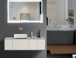 Electric Mirror Bathroom by Illuminated Bathroom Mirror Lighted Wall Mirrors For Bathrooms