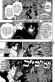 boku no hero academia chapter 148