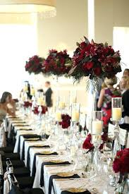 dark red wedding decorations gold and red wedding cakes as for