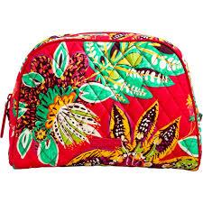 vera bradley home decor vera bradley large zip cosmetic rumba shop by pattern