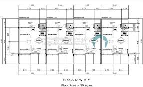 row house floor plan lilac house and lot at apo highlands subdivision estate in