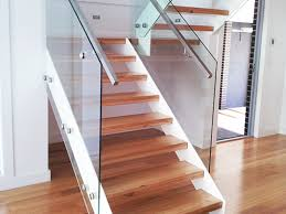 open riser stairs steps u2014 railing stairs and kitchen design