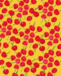 pattern illustration tumblr fruit patterns bouffants broken hearts fruit pinterest