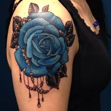 best 25 black and blue tattoo ideas on pinterest lotus flower