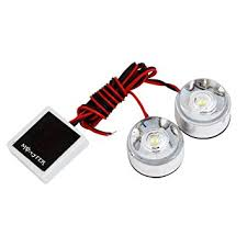 strobe light bulbs for cars sourcingmap 2 x round led white strobe light for auto motorcycle dc
