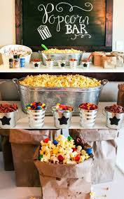 party ideas ultimate popcorn bar popcorn bar diy party ideas and family
