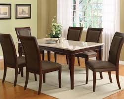 acme dining set w white marble top table britney ac70060a set