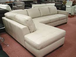 Leather Sectional Sofas Sale Used White Leather Sectional Sofa