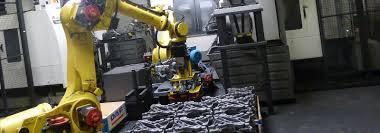 metal casting parts handling