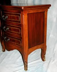 Black Wood Nightstand Solid Wood Nightstand Black Home Design Ideas