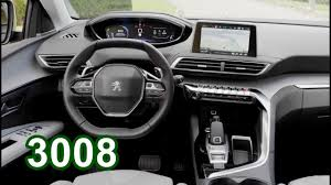 peugeot luxury car 2017 peugeot 3008 interior youtube