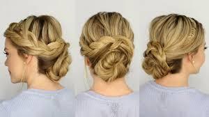 french braid hairstyles french braid updo youtube