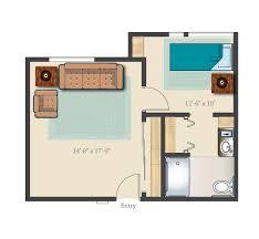 Castle Green Floor Plan by Senior Living Communities Assisted Living Castle Rock Colorado