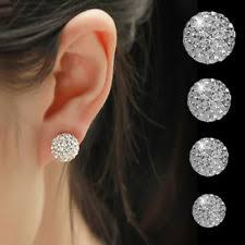 invisible earrings for school clear earrings ebay
