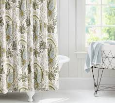 Paisley Shower Curtains Yellow And Gray Paisley Curtains Best Curtain 2017