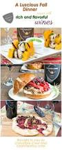 a fall dinner recipes with wine pairings