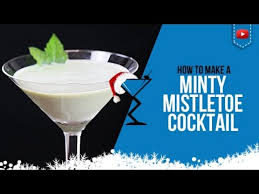 christmas cocktails recipes christmas cocktails u2013 minty mistletoe u2013 how to make a minty