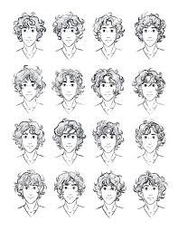 drawing of bob hair best 25 curly hair drawing ideas on pinterest how to draw hair