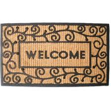Coir And Rubber Doormat Buy Welcome Mats Doormat From Bed Bath U0026 Beyond