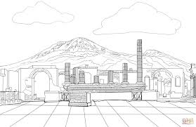 pompeii coloring page free printable coloring pages