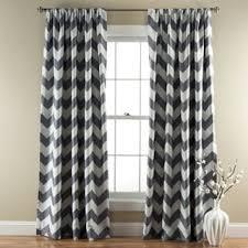Chevron Design Curtains Avondale Manor Blackout Chevron Curtain Panel Pair Free